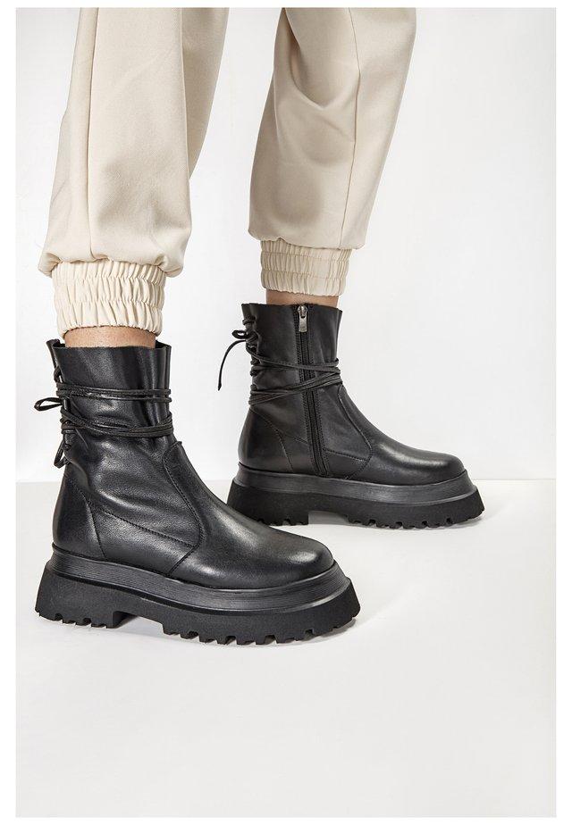 Ankle boots - black blk