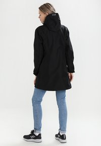 Helly Hansen - LONG BELFAST JACKET - Outdoor jacket - black - 2
