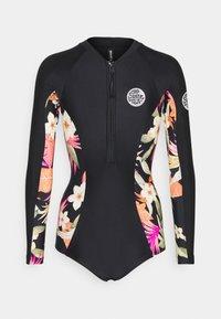 Rip Curl - BOMB UV SURFSUIT - Swimsuit - black - 1