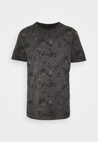 JPRBLASHAWN TEE CREW NECK - Print T-shirt - black