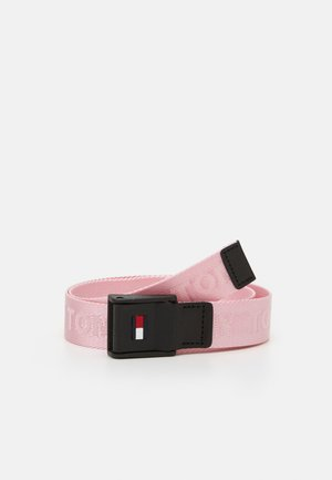 KIDS FLAG BELT UNISEX - Riem - pink
