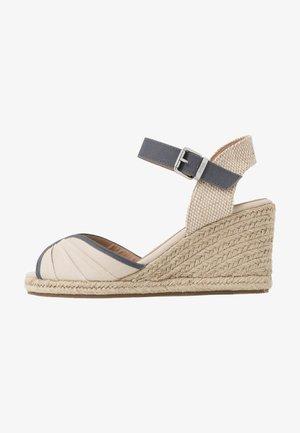 NEW PALMER - High Heel Sandalette - natural