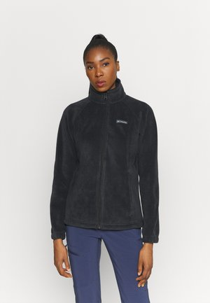 BENTON SPRINGS  - Fleece jacket - black