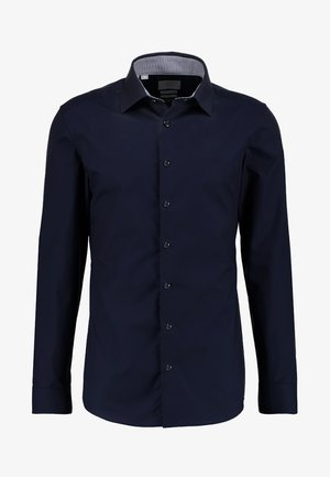 SLHSLIMNEW MARK SLIM FIT - Kostymskjorta - navy blazer