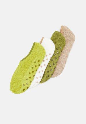ONLINE WOMEN COSY SNEAKER 4 PACK - Ponožky - kiwi