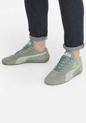 SPEEDCAT SPARCO - Trainers - quarry gray violet nrgy yllw