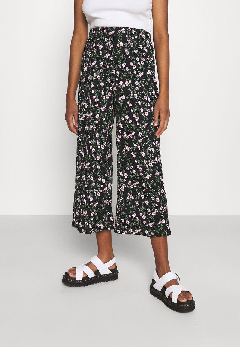 ONLY - ONLPELLA COLUTTE PANTS - Broek - black