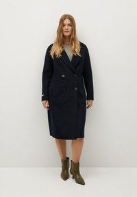 Violeta by Mango - NAVY - Classic coat - dunkles marineblau - 1