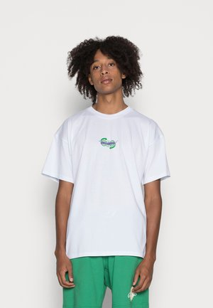 GEAR OVERSIZE - Jednoduché triko - white