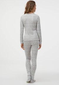 OYSHO - Bas de pyjama - light grey - 2