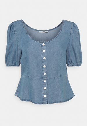 ONLULRIKA LIFE BLOUSE - Blouse - medium blue denim