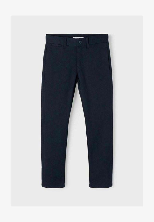 REGULAR FIT - Pantaloni - dark sapphire