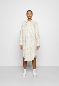 Monki - CAROL DRESS - Košilové šaty - white - 0