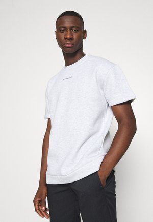 GOOD FOR NOTHING OVERSIZED  - T-shirt imprimé - white