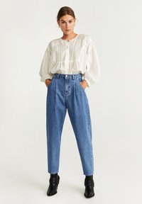 Mango - REGINA - Jean droit - medium blue - 1
