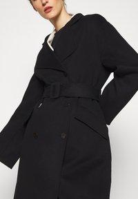Theory - BELT COAT LUXE - Classic coat - black - 6