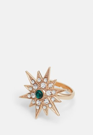 STAR - Ring - green/gold-coloured