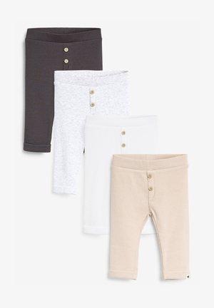 4 PACK  - Leggings - Trousers - light brown