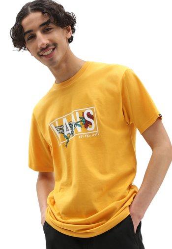 MN THORNED SS - Print T-shirt - golden glow