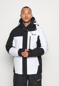 Oakley - Snowboard jacket - black/white - 0