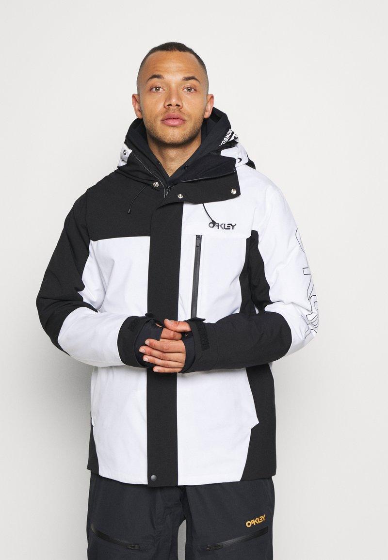 Oakley - Snowboard jacket - black/white