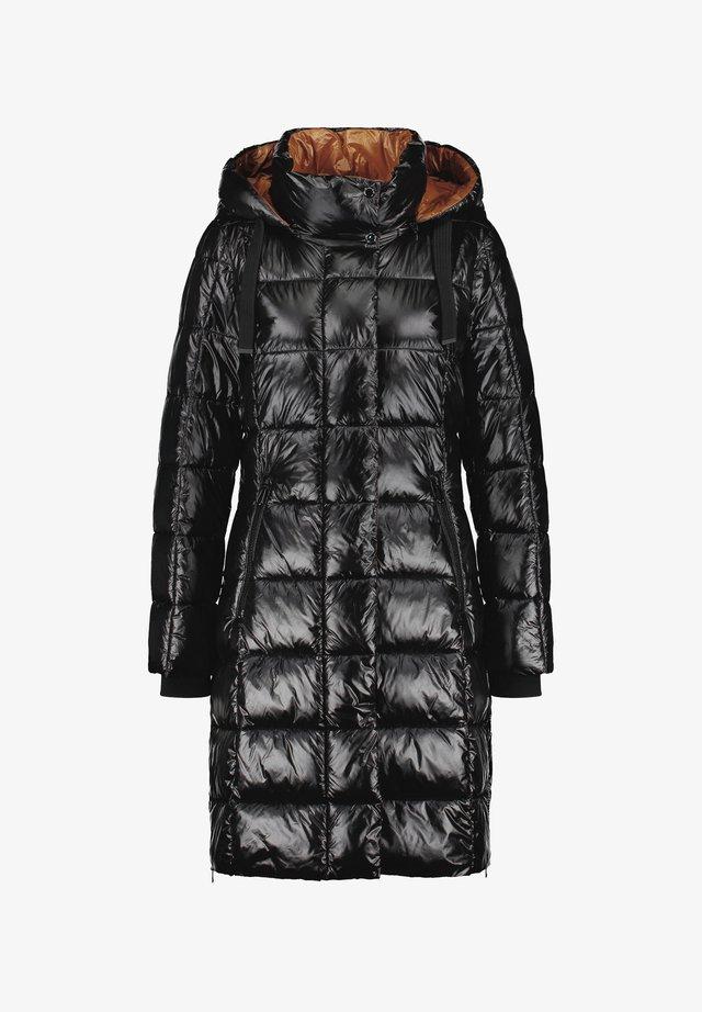 MIT GLANZFINISH - Down coat - schwarz