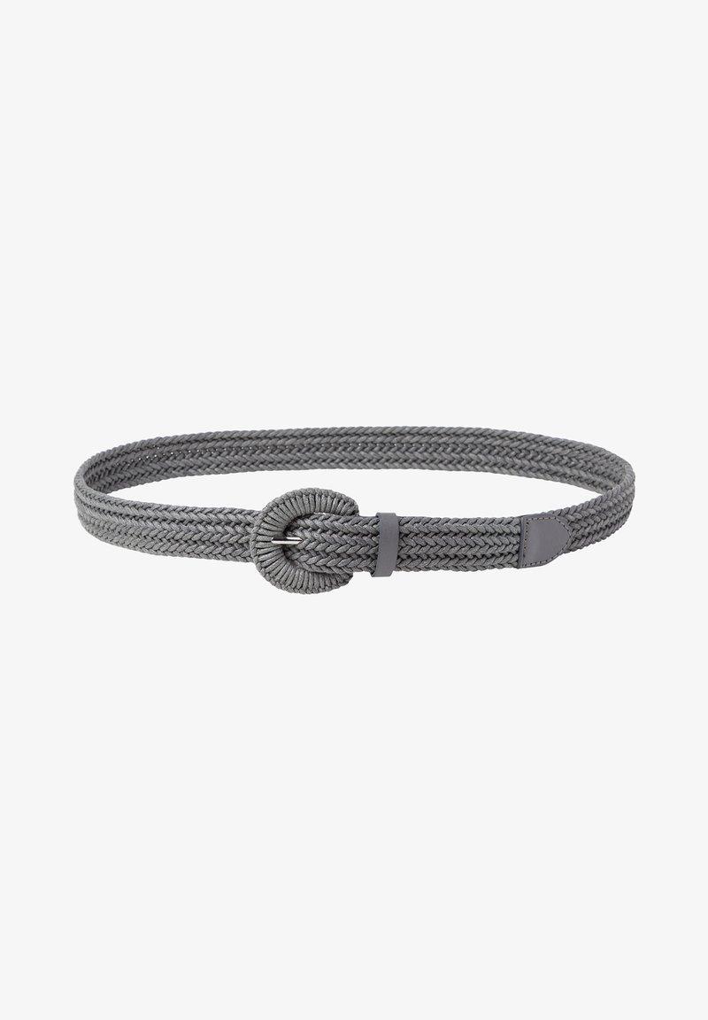 zero - Braided belt - slate