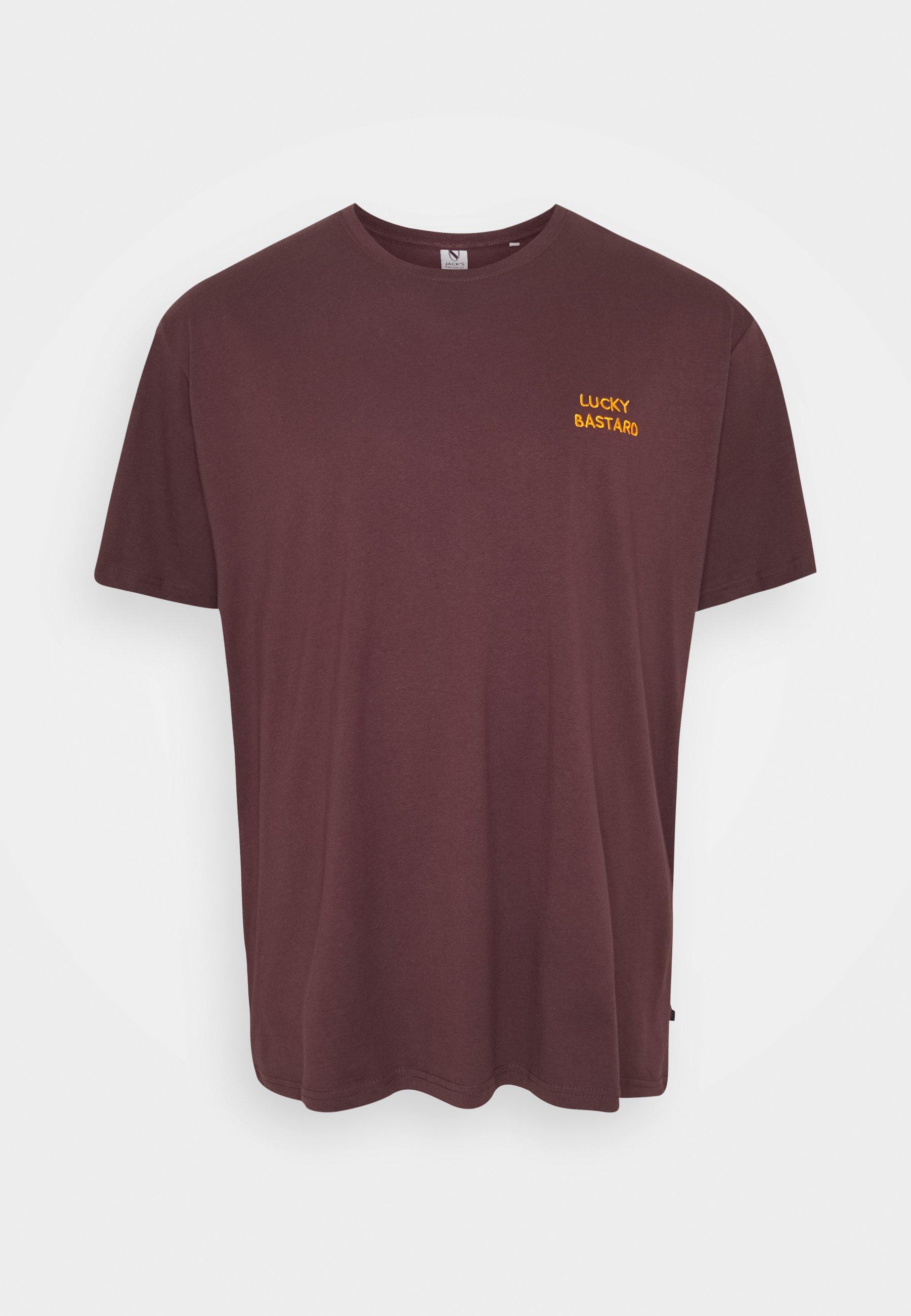 Jack´s Sportswear Chest Embroidery Tee - T-shirt Print Black