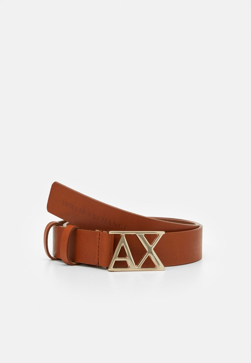 Armani Exchange - BELT - Belt - marrone