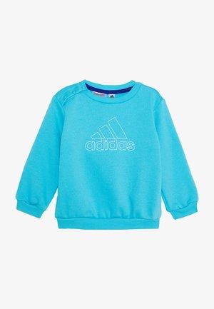 Sweatshirt - brcyan/white