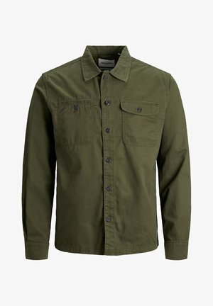 COMFORT FIT - Shirt - olive night