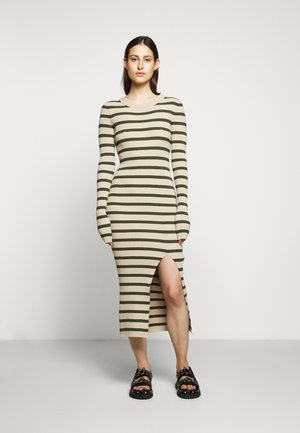 DRESS - Shift dress - beige/khaki