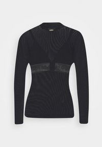 Guess - GABRIELLE - Long sleeved top - jet black - 3