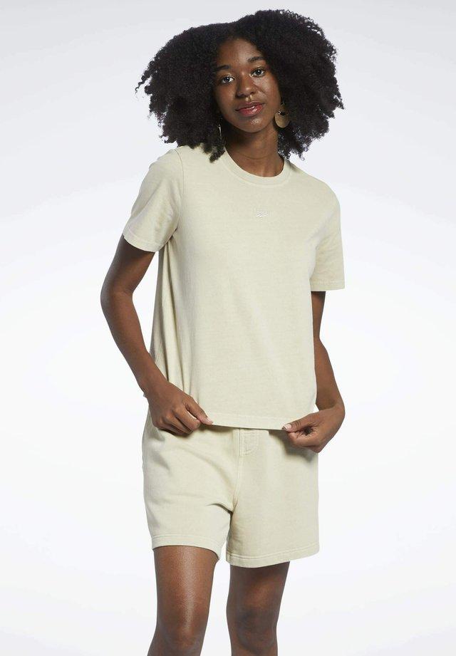 CLASSICS NATURAL DYE - T-shirt basique - beige