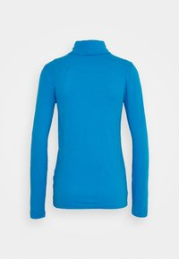 J.CREW - TISSUE TURTLENECK - Long sleeved top - barcelona blue - 1