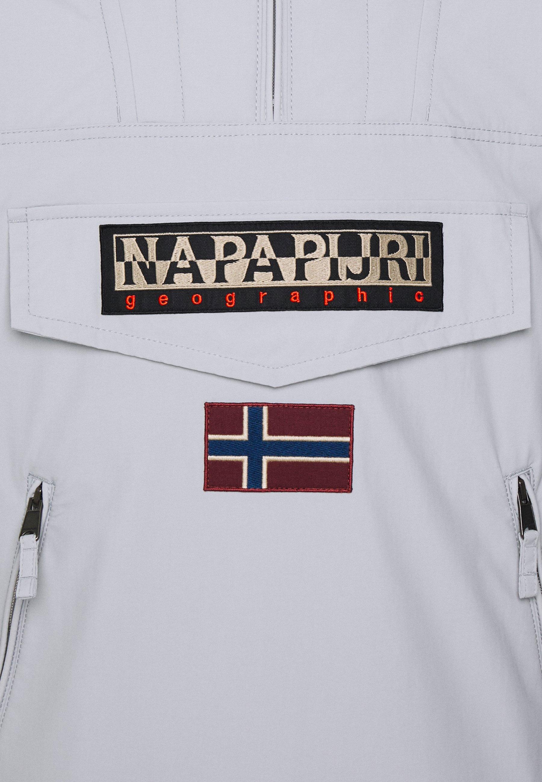 Fast Express Abbigliamento da uomo Napapijri RAINFOREST POCKET  Giacca da mezza stagione grey harbor