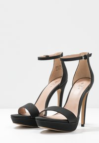 Call it Spring - WESTKAAP - Korolliset sandaalit - black - 4