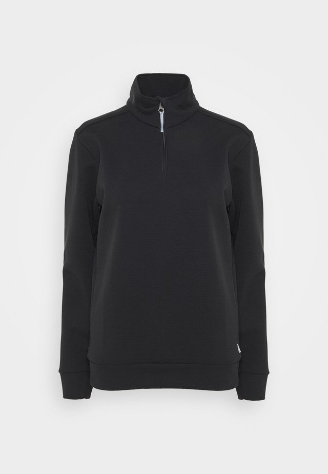 MONO AIR HALFZIP - Sweatshirt - true black