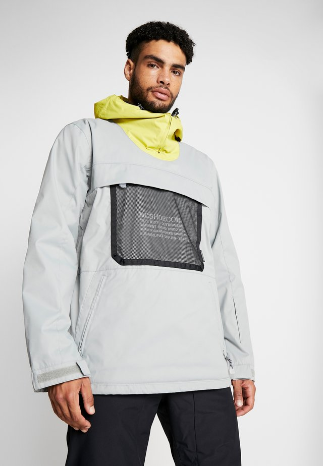 ASAP ANORAK - Snowboard jacket - neutral gray