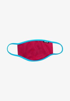 Stoffen mondkapje - burgundy/blue