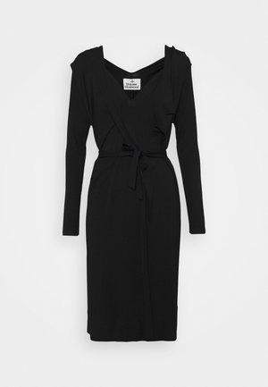 PANEGA DRESS - Jersey dress - black