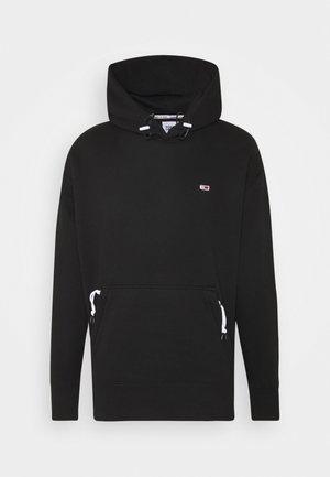 DETAIL HOODIE UNISEX - Jersey con capucha - black