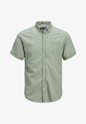 Shirt - green milieu
