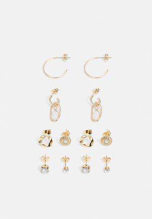ONLASTA EARRING 6 PACK - Earrings - gold-coloured