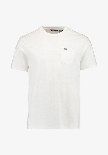 Basic T-shirt - powder white