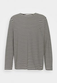 CHARLES - Long sleeved top - offwhite/black