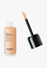 KIKO Milano - FULL COVERAGE 2 IN 1 FOUNDATION AND CONCEALER - Foundation - 15 warm beige - 0