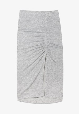 GERAFFTER - Pencil skirt - grey