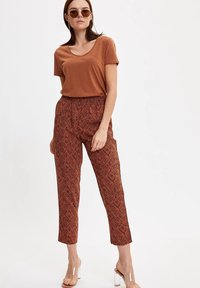 DeFacto - Trousers - orange - 1