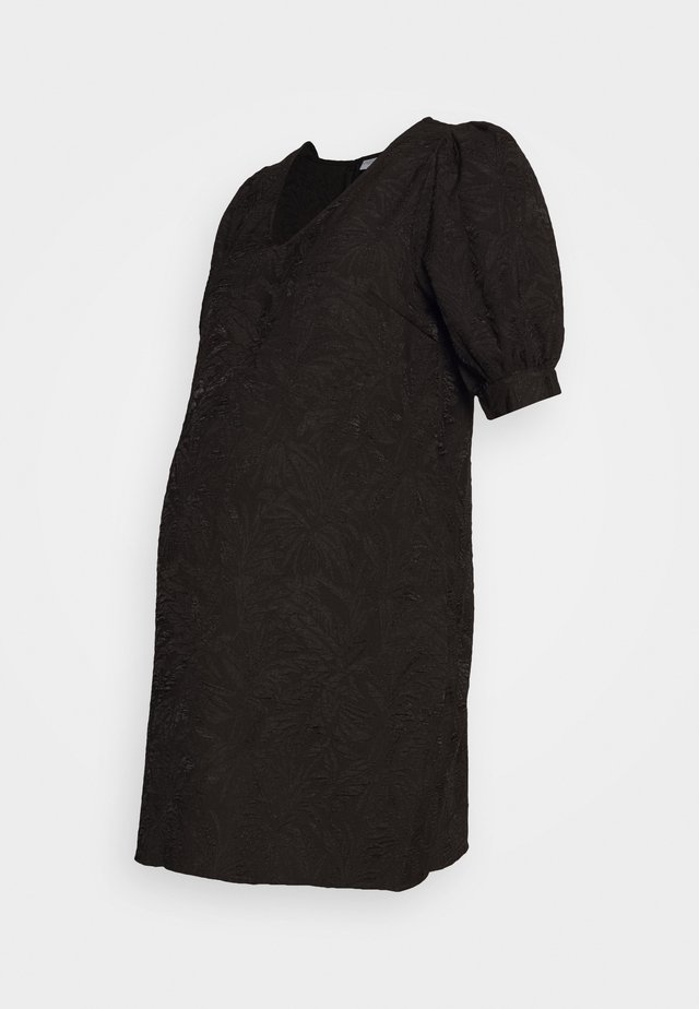 PCMDJUNA DRESS - Denní šaty - black